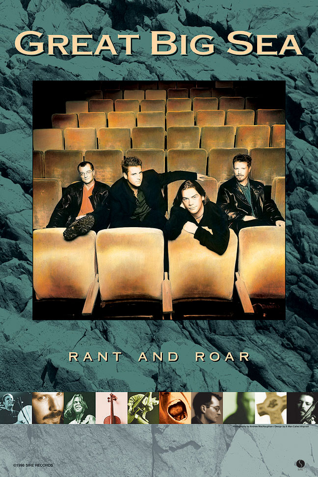 great big sea rant and roar poster